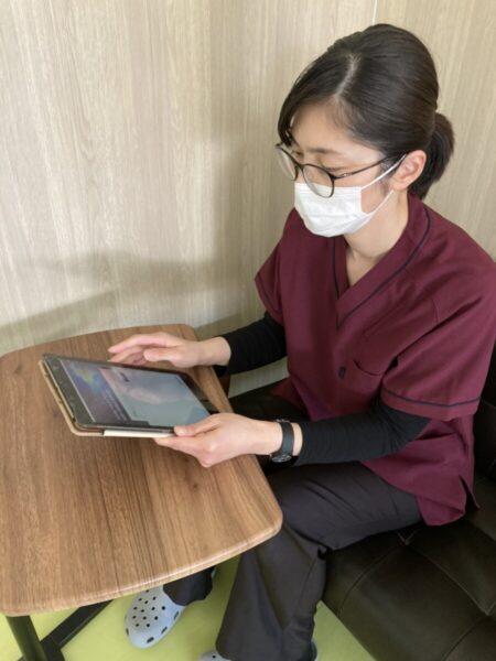 看護記録の電子化とタブレット(iPad)の導入について